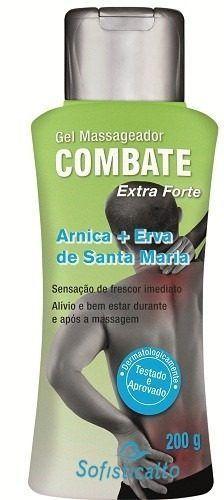 Gel Massageador Arnica com Erva de Santa Maria 200g. Sofisticatto Cosmeticos
